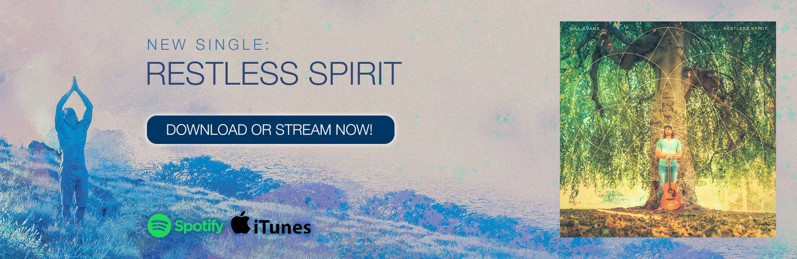 Restless Spirit Homepage slide